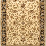 """Hand-knotted Sultanabad Cream Wool Rug 8'11"""" x 11'11"""""""