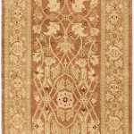 Hand-knotted Pako Persian 18/20 Brown, Khaki Wool Rug 2'6″ x 19'5″