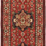 Hand-knotted Serapi Heritage Dark Copper Wool Rug 2'7″ x 12'0″ (2)