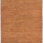 Hand-knotted Persian Gabbeh Dark Copper Wool Rug 2'9″ x 9'1″