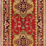 Hand-knotted Serapi Heritage Red Wool Rug 2'7″ x 10'0″ (2)