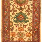 Hand-knotted Sarabi Orange Wool Rug 2'0″ x 3'0″ (1)