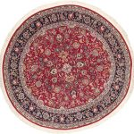 Hand-knotted Sino Persian 180L Dark Red Wool Rug 7'5″ x 7'5″