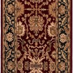 Lotus Garden Coral Red Red Rug 2'8″ x 8'0″