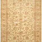 Hand-knotted Chobi Finest Beige Wool Rug 11'6″ x 17'2″