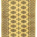 Hand-knotted Finest Peshawar Bokhara Beige Wool Rug 3'0″ x 5'0″