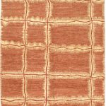 Hand-knotted Finest Ziegler Chobi Brown Wool Rug 5'5″ x 8'0″