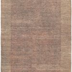 Hand-knotted Finest Ziegler Chobi Gray Wool Rug 4'2″ x 6'1″