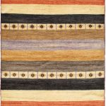 Hand-knotted Finest Ziegler Chobi Orange Wool Rug 4'1″ x 5'7″