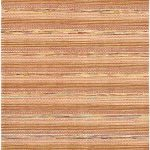 Hand-knotted Finest Ziegler Chobi Orange Wool Rug 6'6″ x 9'8″