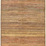 Hand-knotted Finest Ziegler Chobi Light Yellow Wool Rug 5'1″ x 8'3″