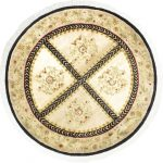 """Hand-knotted Opulence Beige Wool Rug 5'11"""" x 5'11"""""""
