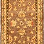 Hand-knotted Chobi Finest Pink Wool Rug 3'0″ x 20'0″