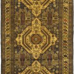 Hand-knotted Finest Rizbaft Brown Wool Rug 3'3″ x 6'5″