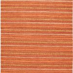 Hand-knotted Finest Ziegler Chobi Dark Orange Wool Rug 5'5″ x 8'3″