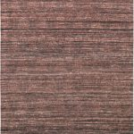 Hand woven Fab Dhurrie Black Yellow, Brown Dhurrie 4'7″ x 6'6″