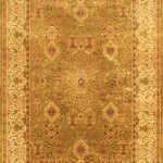 Hand-knotted Mirzapur Beige Wool Rug 6'0″ x 9'0″ (1)
