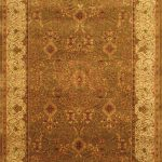 Hand-knotted Mirzapur Beige Wool Rug 9'3″ x 13'6″