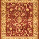 Hand-knotted Chobi Finest Beige Wool Rug 8'0″ x 9'8″