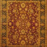 Hand-knotted Pako Persian 18/20 Red Wool Rug 8'0″ x 10'0″