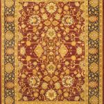 Hand-knotted Pako Persian 18/20 Red Wool Rug 8'1″ x 10'4″