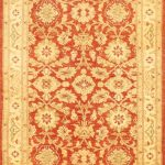 "Hand-knotted Chobi Finest Beige Wool Rug 3'10"" x 6'0″"