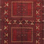 Hand-knotted Finest Khal Mohammadi Light Burgundy Wool Rug 5'5″ x 7'11""