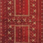 Hand-knotted Finest Khal Mohammadi Light Burgundy Wool Rug 5'2″ x 8'1″