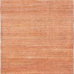 Hand-knotted Persian Gabbeh Pink Wool Rug 4'0″ x 6'4″