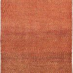 Hand-knotted Persian Gabbeh Red Wool Rug 3'0″ x 9'8″