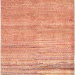 Hand-knotted Persian Gabbeh Pink Wool Rug 3'0″ x 9'5″