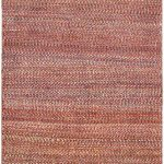 Hand-knotted Persian Gabbeh Pink Wool Rug 2'9″ x 9'4″
