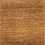 Hand-knotted Persian Gabbeh Beige Wool Rug 3'4″ x 6'5″
