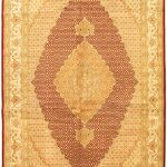 Hand-knotted Pako Persian 18/20 Beige Wool Rug 6'8″ x 10'3″