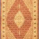 Hand-knotted Pako Persian 18/20 Beige Wool Rug 4'0″ x 6'3″