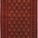 Hand-knotted Finest Khal Mohammadi Light Burgundy Wool Rug 6'6″ x 9'7″