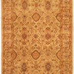 "Hand-knotted Chobi Finest Beige Wool Rug 5'10"" x 8'10"""