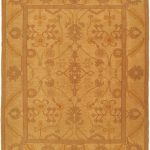 Hand woven Shiravan Sumak Light Khaki Wool Sumak 8'1″ x 9'10""