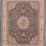 Hand-knotted Sino Persian 220L Pink Wool Rug 8'2″ x 10'2″ (1)