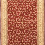Hand-knotted Sino Persian 220L Beige Wool Rug 8'9″ x 11'9″ (1)