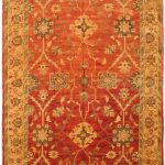 Hand-knotted Chobi Finest Beige Wool Rug 12'5″ x 18'9″