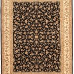 Hand-knotted Sino Persian 220L Beige Wool Rug 9'0″ x 12'0″ (1)