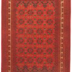 Hand-knotted Finest Khal Mohammadi Red Wool Rug 6'7″ x 9'10""