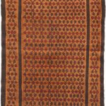 Hand-knotted Persian Vogue Beige Wool Rug 3'6″ x 9'6″