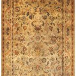 Handmade Antiquities ECGSAT052A Gold, Sage Wool Rug 3'0″ x 5'0″