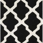 Handmade Cambridge ECGSCA0M121E Black Wool Rug 6'0″ x 9'0″