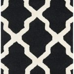 Handmade Cambridge ECGSCA0M121E Black Wool Rug 2'6″ x 6'0″