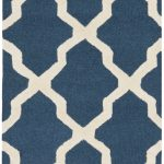 Handmade Cambridge ECGSCA0M121G Blue Wool Rug 2'6″ x 12'0″