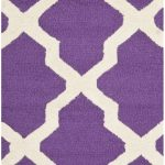 Handmade Cambridge ECGSCA0M121K Ivory, Purple Wool Rug 2'0″ x 3'0″