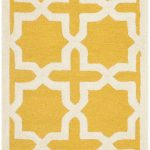 Handmade Cambridge ECGSCA0M125Q Gold, Ivory Wool Rug 2'6″ x 8'0″